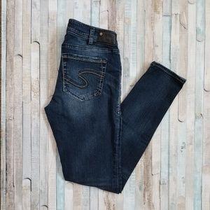 Silver Suki Mid Super Skinny Jeans